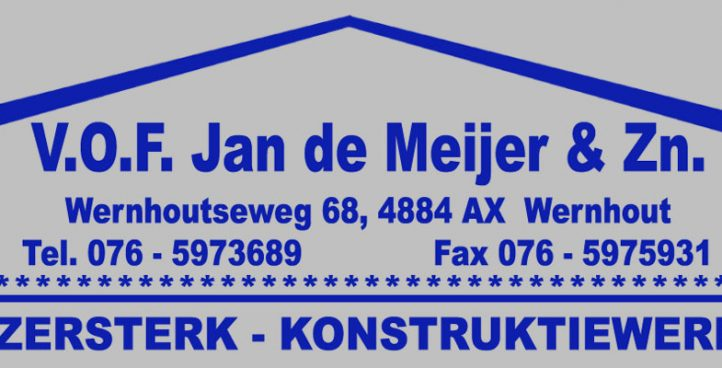 v.o.f Jan de Meijer