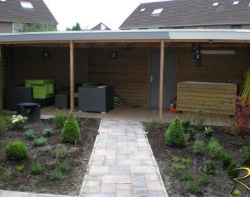Tuinverbouwing voorkant